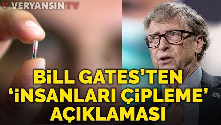 Bill Gates'ten koronavirüs aşısındaki çip iddialarına yanıt