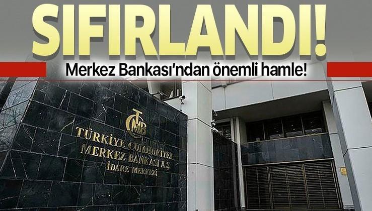 Son dakika: Merkez Bankası'ndan flaş likidite kararı!
