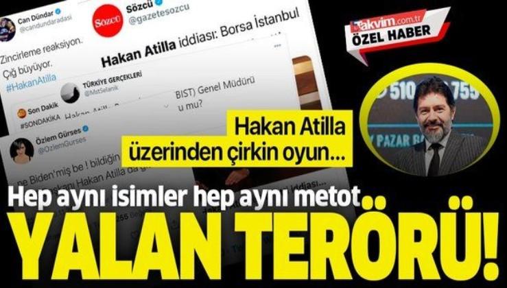 Sözcü, Halk TV sunucusu Özlem Gürses ve firari Can Dündar'dan 'Hakan Atilla istifa etti' yalanı!