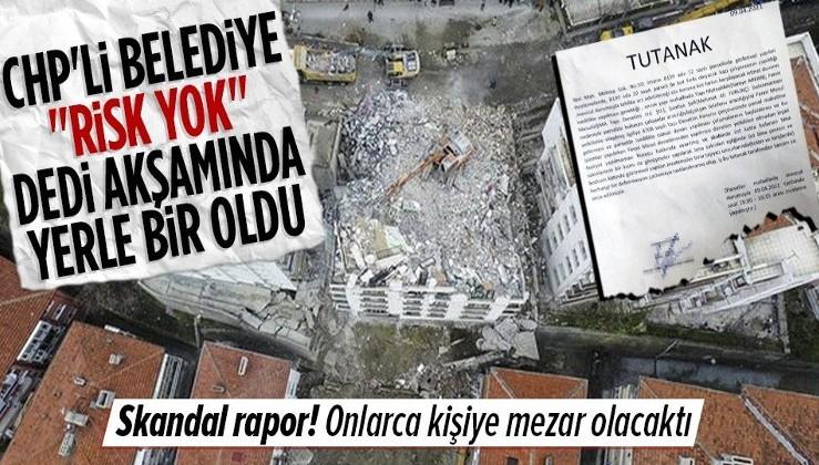 Çankaya Belediyesi'nin ihmaller zinciri onlarca kişinin ölümüne neden olacaktı! Skandal rapor ortaya çıktı müfettiş görevlendirildi