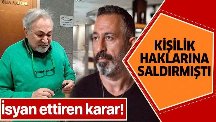 Cem Yılmaz'a dava açmıştı! Mahkemenin kararı Orhan Kural'ı isyan ettirdi.