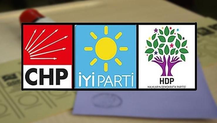 CHP, HDP ve İyi Parti, erken seçimde buluştu!