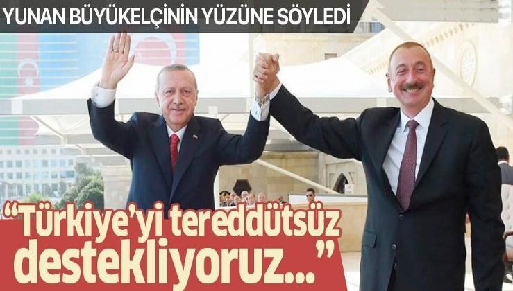 """Azerbaycan'dan Türkiye'ye 'Doğu Akdeniz' desteği! """"Tereddütsüz destekliyoruz"""""""