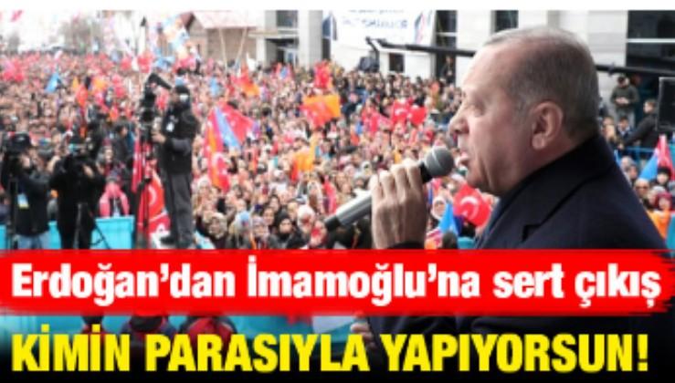 Erdoğan İmamoğlu'nun seçim vaadine sert çıkış yaptı