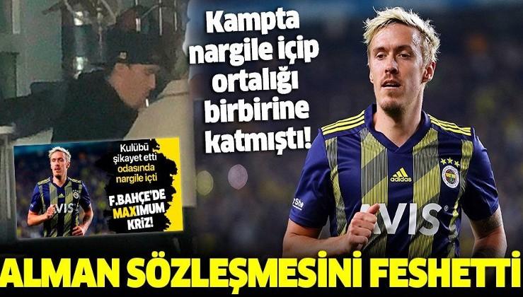 Fenerbahçe resmen açıkladı | Max Kruse sözleşmesini feshetti