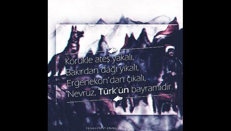 NEVRUZ, 3 bin yıldır TÜRK Bayramıdır...