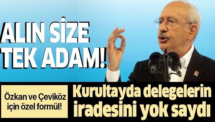 Kemal Kılıçdaroğlu'ndan Parti Meclisi'ne giremeyen Tuncay Özkan ve Ünal Çeviköz için özel formül