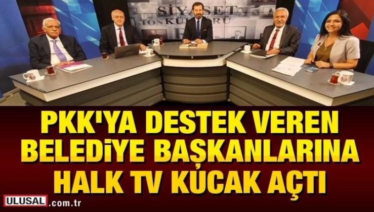 PKK'ya destek veren belediye başkanlarına Halk TV kucak açtı