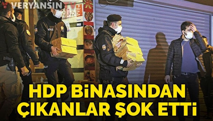 HDP'de 100 bin fotoğraflık terör arşivi çıktı