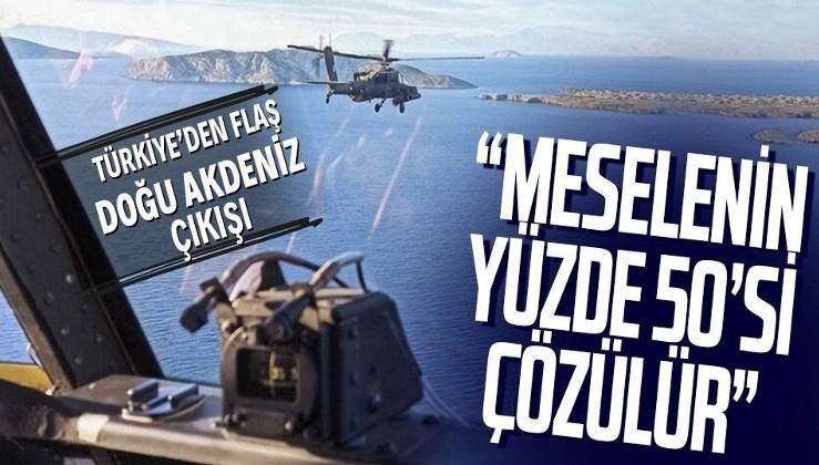 Kıbrıs ve Doğu Akdeniz açıklaması