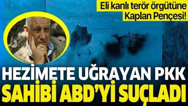 Pençe-Kaplan operasyonu PKK'yı hezimete uğrattı! PKK elebaşı Cemil Bayık ABD'yi suçladı!