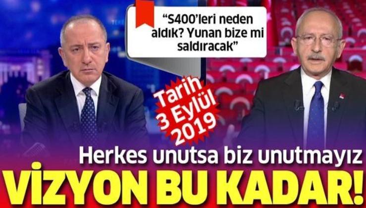 """Doğu Akdeniz'de yükselen tansiyon sonrası Kılıçdaroğlu'nun """"S-400'lere ne gerek vardı?"""" sözleri yeniden gündemde"""