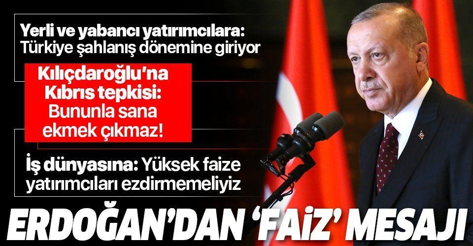 Erdoğan'dan Türkiye Ekonomi Şurası'nda önemli açıklamalar