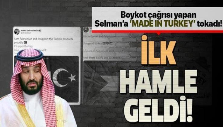 Son dakika: Türk mallarına boykot uygulayan Suudi Arabistan'a ilk hamle geldi!