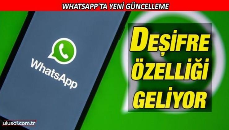 Whatsapp'a sesli mesaj deşifre özelliği geliyor