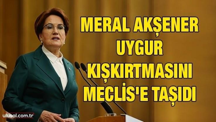 ABD ve maşası HDPKK'ya sus pus olan Meral Akşener, Çin'le ilişkileri durduralım dedi!
