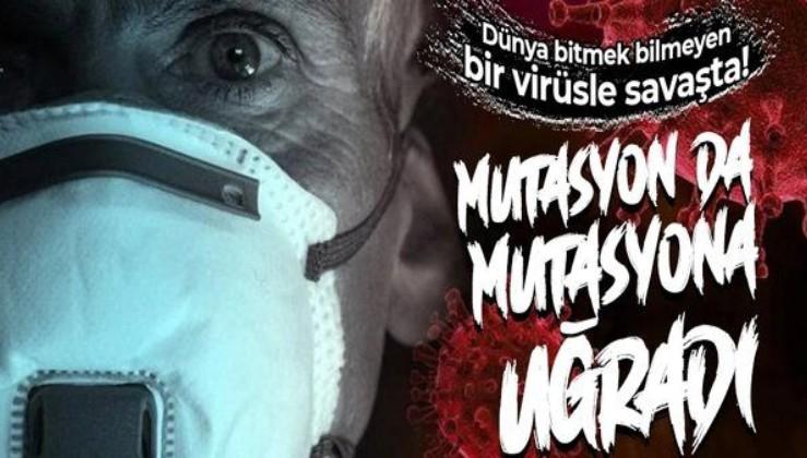 Dünya şokta! İngiltere'deki koronavirüs mutasyonu yeniden mutasyona uğradı!