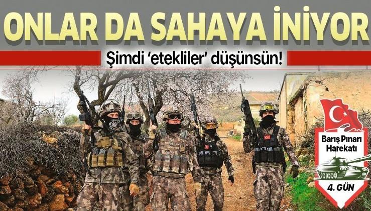 Barış Pınarı Harekatı'nda JÖH ve PÖH timleri sahaya iniyor