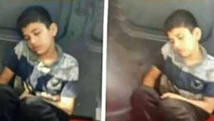 Üzeri kirli diye minibüste koltuğa oturtulmayan çocuk konuştu: Üzüldüm