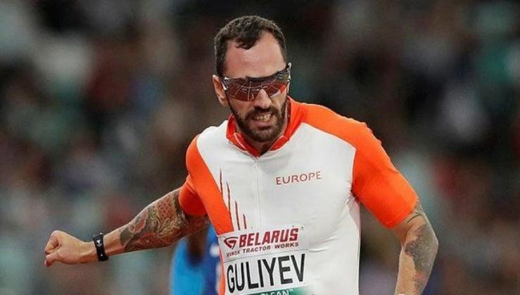 Ramil Guliyev'den birincilik.