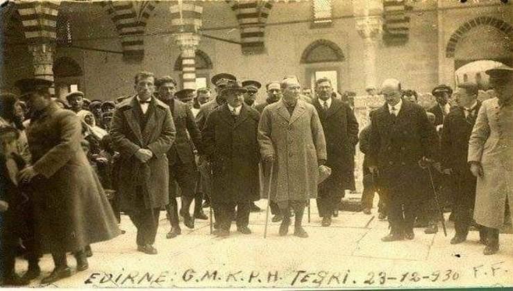 Atatürk'ün emriyle tamir edilen ve ibadete açılan camilerimiz: