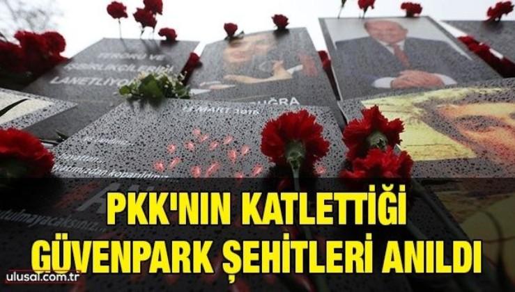 PKK'nın katlettiği Güvenpark şehitleri anıldı