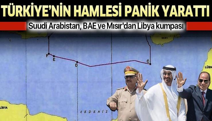 Türkiye'nin Doğu Akdeniz'deki hamlesi Suudi Arabistan, BAE ve Mısır'da paniğe yol açtı.