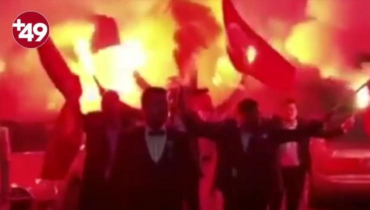 Almanya'da gelin almaya İzmir Marşı'yla gittiler: Yaşa Mustafa Kemal Paşa yaşa...