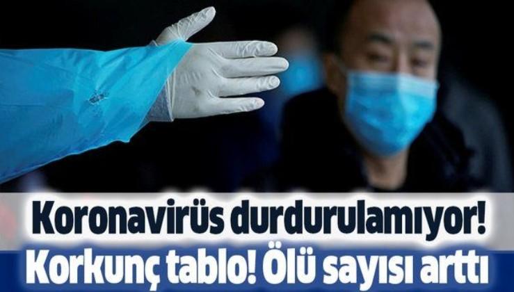 Koronavirüs durdurulamıyor! Ölü sayısı artıyor.