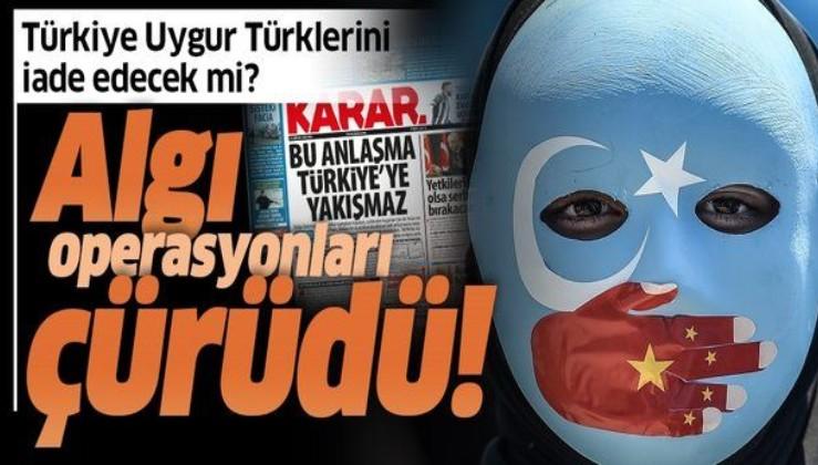 Türkiye Uygur Türklerini iade edecek mi? Algı operasyonları sonrası Uygur Türkleri konusunda anlaşmanın maddeleri ortaya çıktı