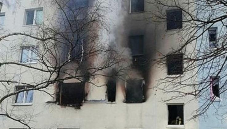 Almanya'da patlama: Çok sayıda yaralı var.