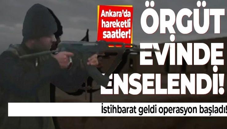 DEAŞ'lı terörist Ankara'da saklandığı örgüt evinde yakalandı