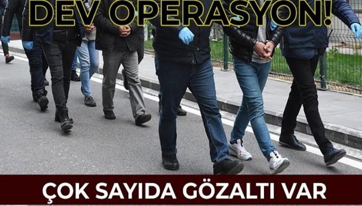 PKK/KCK'nın gençlik yapılanması 'Devrimci Gençlik Hareketi'ne operasyon! Çok sayıda gözaltı var