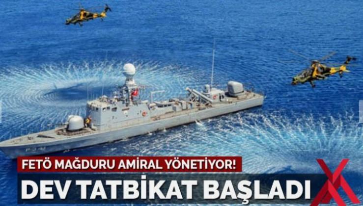 Doğu Akdeniz'de Türkiye liderliğinde dev tatbikat