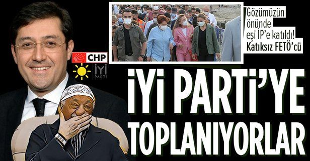 FETÖ'cüleri öven CHP'li Murat Hazinedar'ın eşi Özlem Hazinedar İYİ Parti'ye katıldı