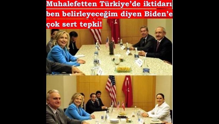 Kılıçdaroğlu ve Akşener'den Biden'e sert tepki!