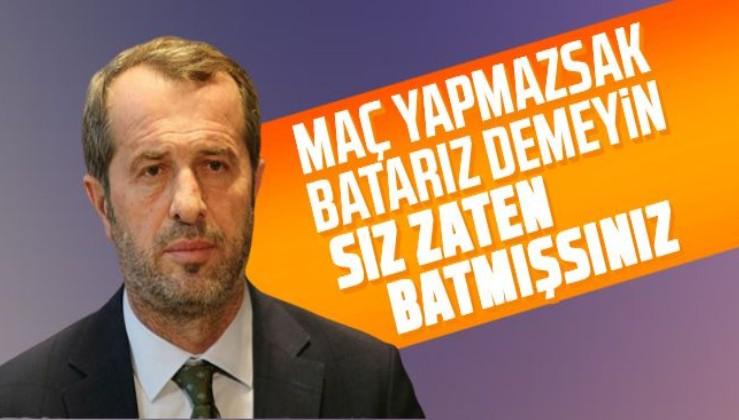 MHP Kocaeli Milletvekili Saffet Sancaklı: 'Maç yapmazsak batarız demeyin çünkü siz zaten batmışsınız'