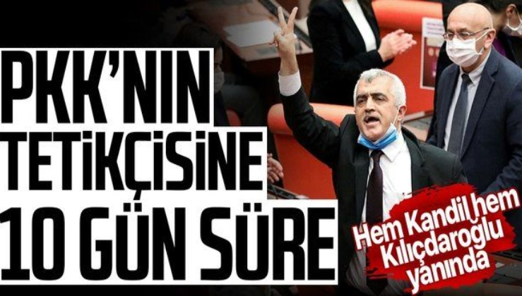 HDP'li PKK destekçisi Ömer Faruk Gergerlioğlu 10 güne teslim olmazsa yakalanacak!