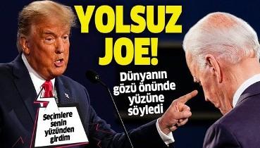 SON DAKİKA: ABD seçimleri öncesi son raunt! Trump'tan Biden'a şok suçlama: Sen yolsuz bir politikacısın Joe