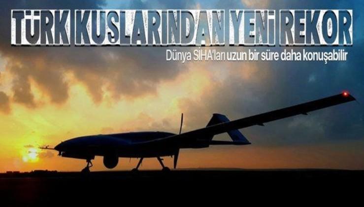 Son dakika: SİHA'lardan tarihi rekor! Türk kuşları tam 300 bin saat havada kaldı