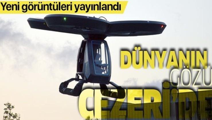 Testlerini başarıyla tamamlamıştı... Türkiye'nin ilk uçan arabası Cezeri'nin yeni görüntüleri yayınlandı!