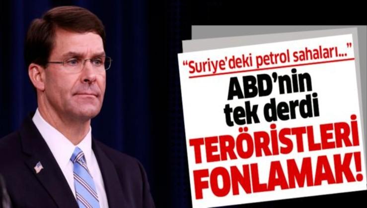 ABD Savunma Bakanı Esper'den skandal açıklama: Suriye'deki petrol sahaları YPG için önemli kaynak olabilir .