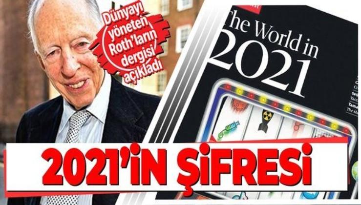 İşte 2021'in şifresi! The Economist kapağına taşıdığı konularla dünyaya mesaj veriyor