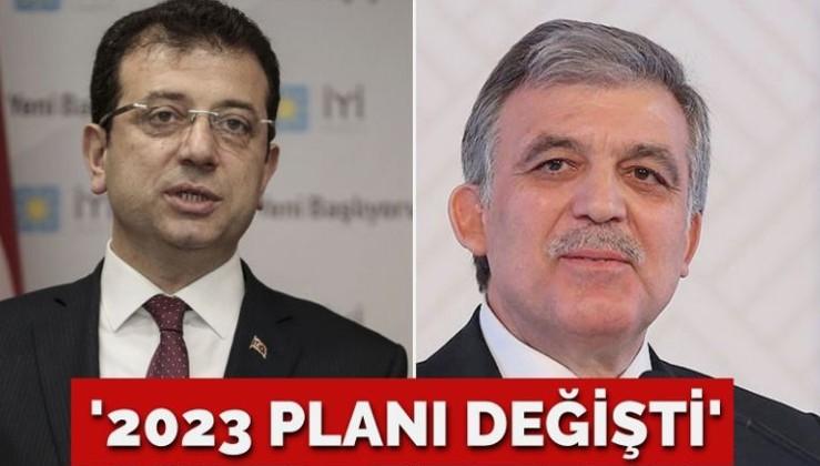 'İmamoğlu'nun Cumhurbaşkanlığı planı değişti'