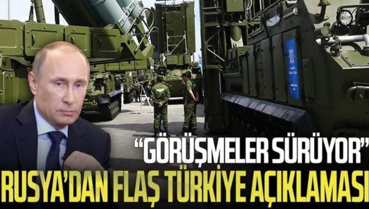 """Rusya'dan son dakika S-400 açıklaması: """"Türkiye ile görüşmelere ara verilmedi"""""""