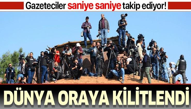 Son dakika: Dünyanın gözü Türk-Rus ortak devriyesinde! Gazeteciler saniye saniye takip ediyor