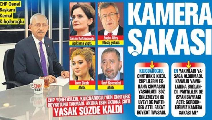 CHP'liler genel başkanları Kemal Kılıçdaroğlu'nu takmadı: Aklına esen ekrana çıktı, yasak sözde kaldı
