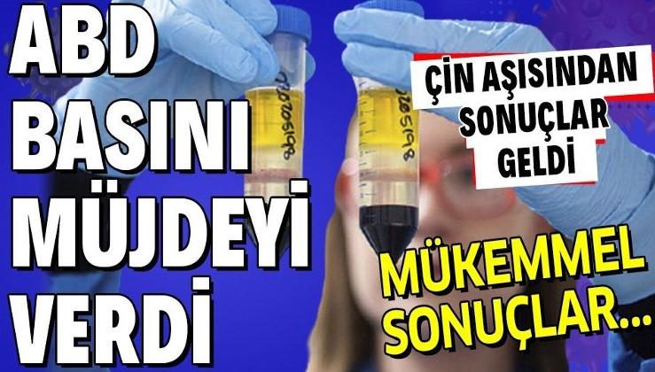 Çin aşısı güvenli mi? Türkiye'de de deneyleri yapılan 'CoronaVac' aşısı testleri sonuçlandı! Müjdeli haberi ABD basını duyurdu