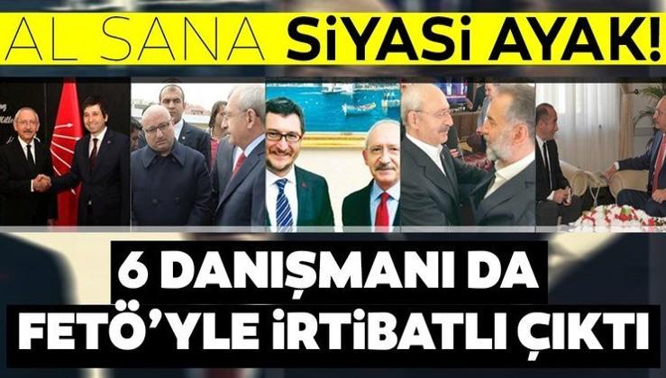 Kemal Kılıçdaroğlu'nun 6 danışmanı FETÖ ile irtibatlı!