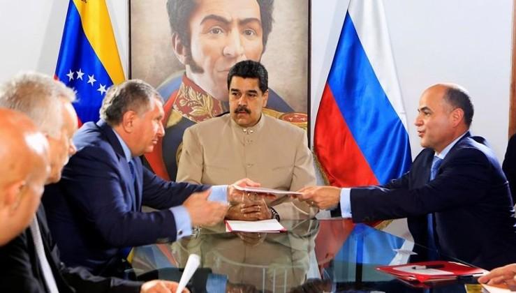 ABD'den Rus petrol şirketine 'Venezüella' yaptırımı